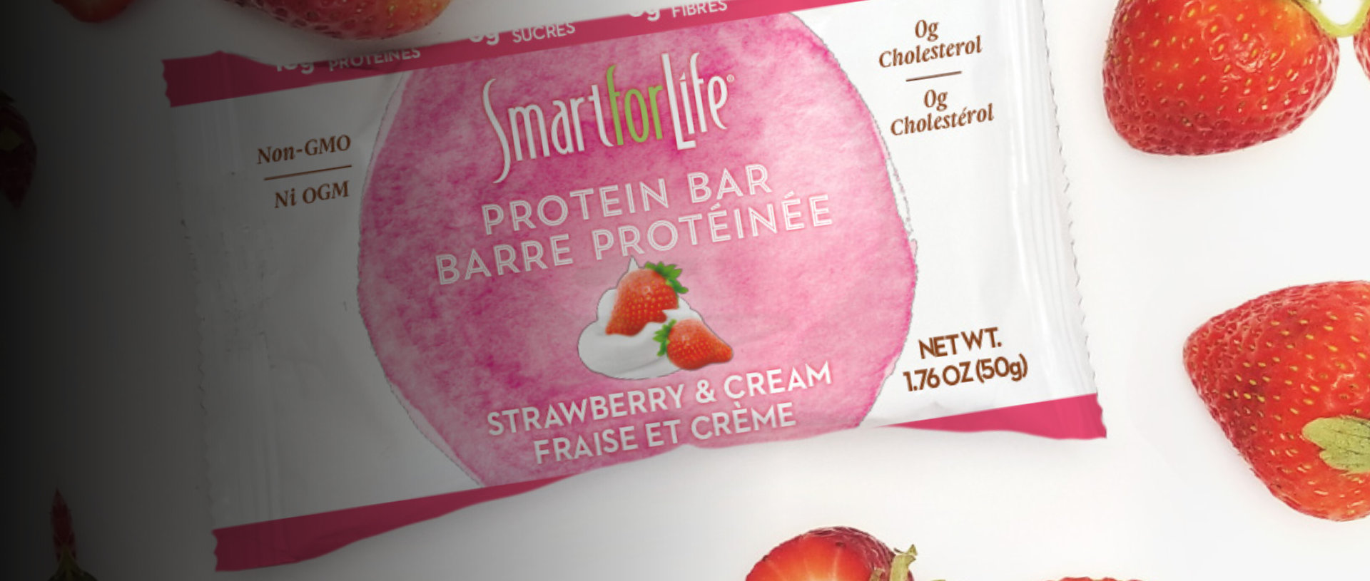 smart for life strawberry and cream flavor