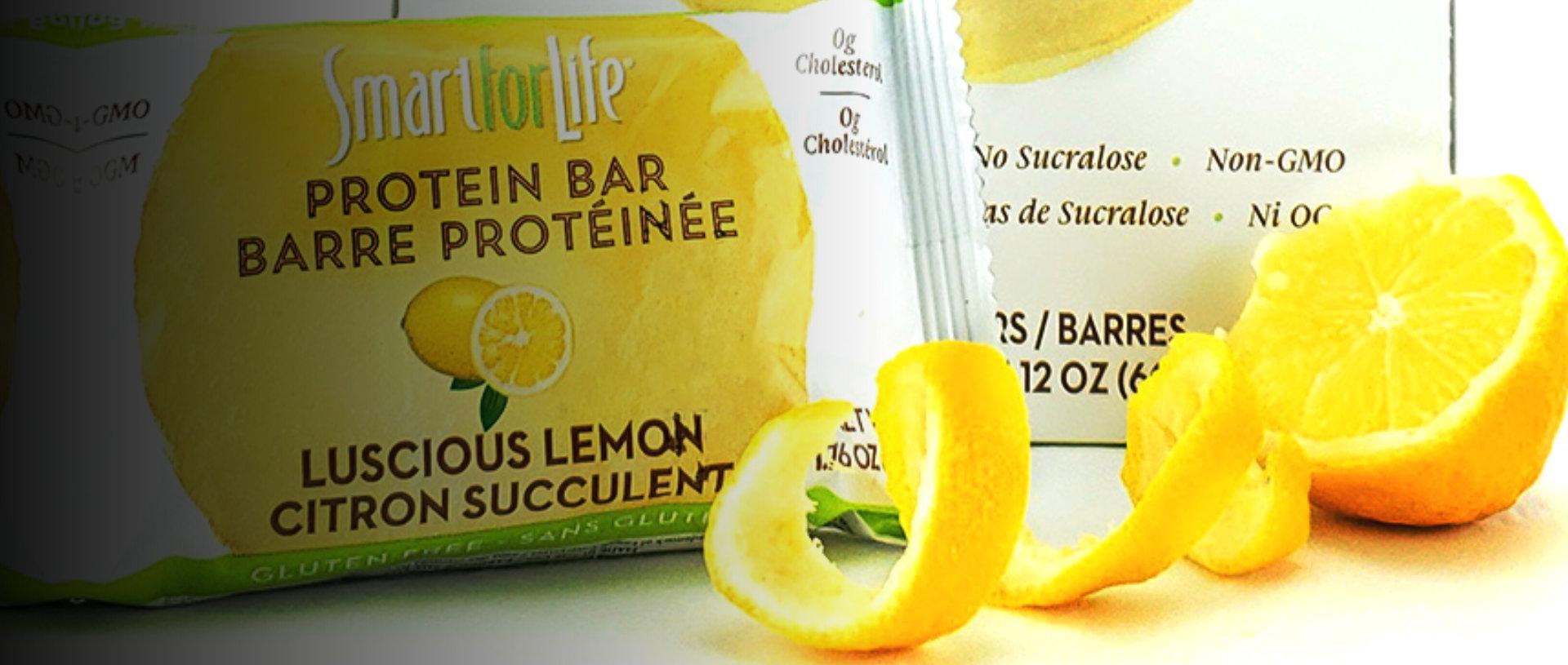 smart for life luscious lemon flavor