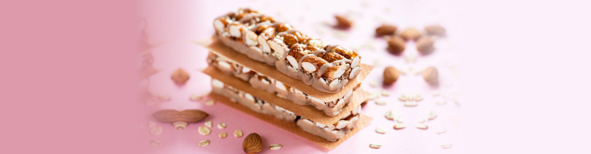 Almond protein bars